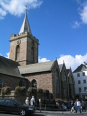 Saint Peter Port - The Town Church
