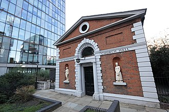 St Botolph-without-Bishopsgate - St Botolph's Church Hall.