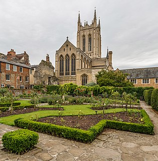 St Edmundsbury Cathedral Church in Suffolk, United Kingdom