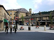 St George's Square, Hebden Bridge - geograph.org.uk - 492987.jpg