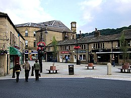 Hebden Bridge (West Yorkshire): la St George's Square