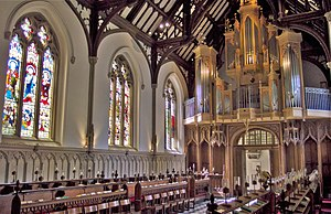 St John's College, Oxford - The Chapel facing west