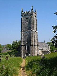 St Marys Church, Throwleigh Church in Throwleigh, England