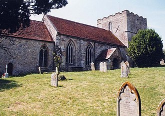 Church of St Michael the Archangel, Shalfleet - Image: St Michael, Shalfleet geograph.org.uk 1173608