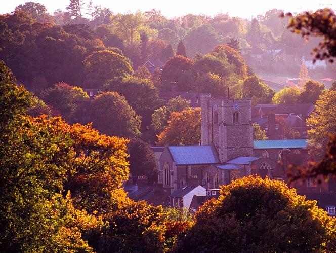 St Peter's Church, Berkhamsted, Hertfordshire, England