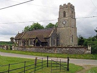 Ickburgh village in the United Kingdom