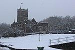 St Peter's Church Bristol in winter.jpg