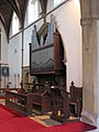 St Peter, Arkley, Herts - Organ - geograph.org.uk - 379885.jpg