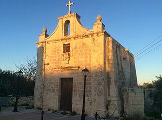San Ġwann - St Philip and St James Chapel