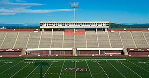 Campus of the University of Massachusetts Amherst - Warren McGuirk Alumni Stadium
