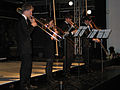 Stadtkulturpreis Hannover 2012, 3a, Posaunen-Quartett der hmtmh Hochschule für Musik, Theater und Medien Hannover, Arne Morgner, Mateusz Sczendzina, Konstantin Udert, Katrin Zolnhofer.jpg