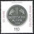 Stamp Germany 1998 MiNr1996 Deutsche Mark.jpg