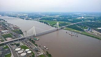 Stan Musial Veterans Memorial Bridge - The completed Stan Musial Veterans Memorial Bridge