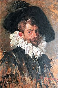 Stanisław Bergman - Autoportret w stroju hiszpańskim.jpg