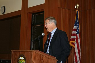Pete Stark - Pete Stark speaks at a Town Hall meeting in January 2007 in San Leandro, California.