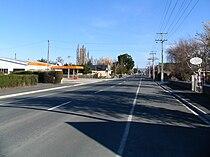 State Highway 87, Middlemarch, NZ.JPG