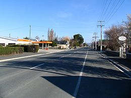 State Highway 87, Middlemarch, NZ.JPG