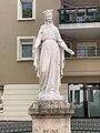 Statue Vierge Marie Rue 19 Mars 1962 Vonnas 1.jpg