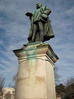 John Cory - Statue of John Cory, Cathays Park
