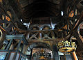 Stave church Lom, above chancel 1.jpg
