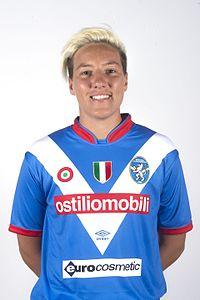 Stefania Tarenzi, FW Brescia Calcio Femminile 08 2016.jpg