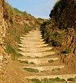 Steps from the beach to the coastpath near Godrevy Farm - geograph.org.uk - 1545332.jpg
