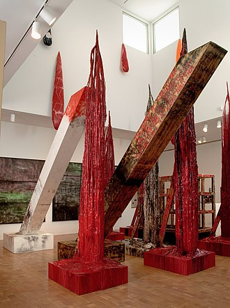 Sterling Ruby - Sterling Ruby, SUPERMAX 2008, installation view, Museum of Contemporary Art, Los Angeles, Pacific Design Center