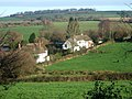 Stockleigh Pomeroy fields and houses - geograph.org.uk - 1617240.jpg