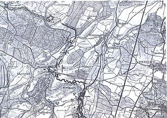Bühl-Stollhofen Line - Image: Stollhofener Linien Mittelteil