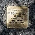Stolperstein Benno Benedict Marburg.jpg
