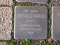 Stolperstein Berthold Baruch, 1, Brunnenallee 29, Bad Wildungen, Landkreis Waldeck-Frankenberg.jpg