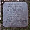 Stolperstein Dahn Hasenbergstraße 4 Ingbert Naab.jpg