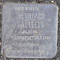 Stolperstein Goldbekufer 19 (Bernhard Bästlein) in Hamburg-Winterhude.JPG