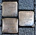 Stolperstein Karlsruhe Heimberger Niedermann Herrenstr 14 (fcm).jpg