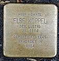Stolperstein Remscheid Alte Bismarckstraße 16 Else Koppel.jpg