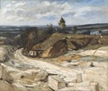 Stonequarry by the River Oise II (Carl Fredrik Hill) - Nationalmuseum - 32542.tif