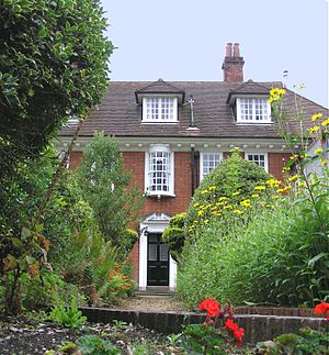 W. H. Allen - Stranger's Corner - Allen's home in Farnham, designed for him by Harold Falkner