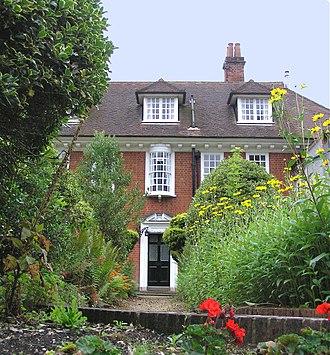 W. H. Allen - Stranger's Corner – Allen's home in Farnham, designed for him by Harold Falkner
