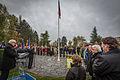 Strasbourg nécropole nationale de Cronenbourg cérémonie 1er novembre 2013 30.jpg