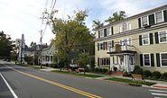 Street scene in Oldwick New Jersey