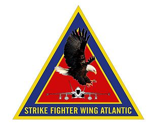 Strike Fighter Wing Atlantic - Command logo
