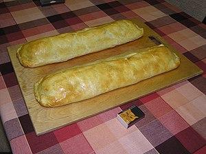 Strudel - Two baked strudel