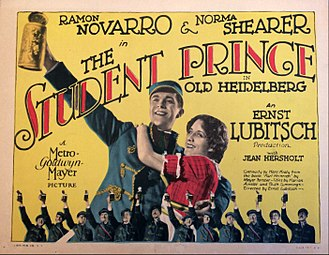 The Student Prince in Old Heidelberg - Lobby card