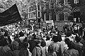 Studenten van Universiteit Amsterdam staken uit protest tegen invoering Wet Veri, Bestanddeelnr 923-5213.jpg