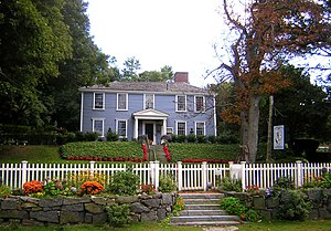 Milton, Massachusetts - The Suffolk Resolves House