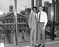 Sugar Ray Leonard and Mayor Raymond L. Flynn (9617959050).jpg