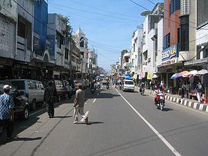 Sukabumi - Ahmad Yani Road in Sukabumi