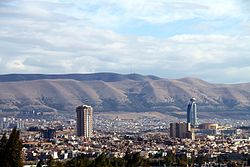 A view of Sulaymaniyah city