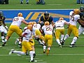 Sun Devils on offense at Arizona State at Cal 2010-10-23 3.JPG