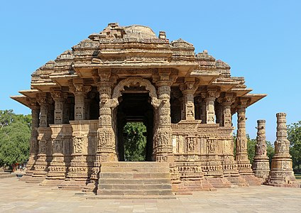 The Sabha Mandap of the Sun Temple, Modhera, India